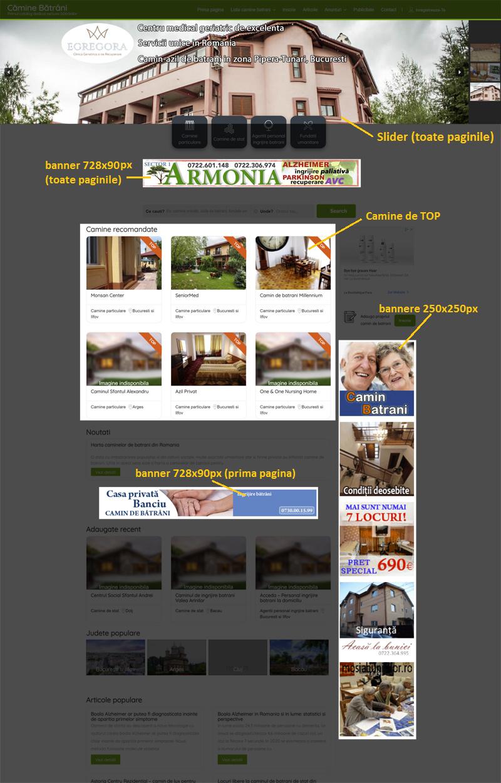 Promovare online camine de batrani